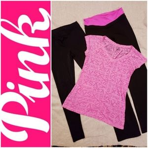 Victoria Secret Pink  Sport  WorkOut  Sz Small